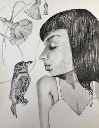Charcoal and Graphite